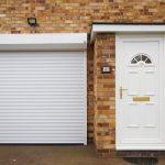 Classic white external shutter