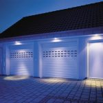 night light garage door